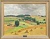 Fritz kärfve, fritz kärfve, oil on canvas, signed, dated -43.
