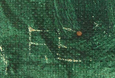 Fabian emond, oil on canvas laid on panel, signed fe.
