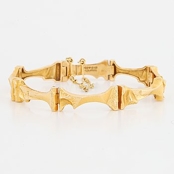 "Lapponia, ""Mukka"" 18K gold bracelet."