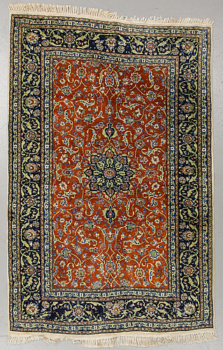 Matta, old, kashmir, ca 223 x 141 cm.