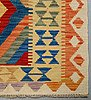 A carpet, kilim, 226 x 171 cm.