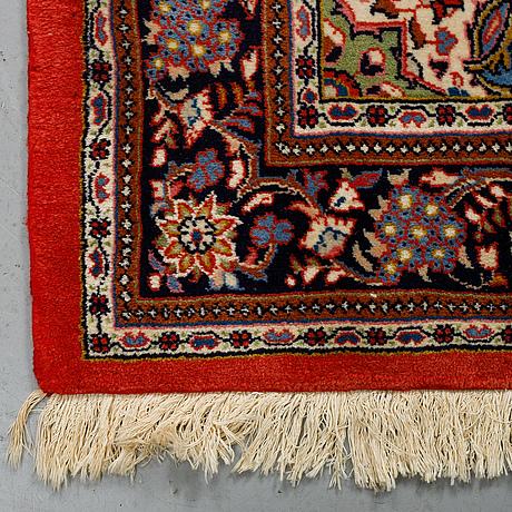 Matto, semi-antique sarouk, ca 215 x 135 cm.