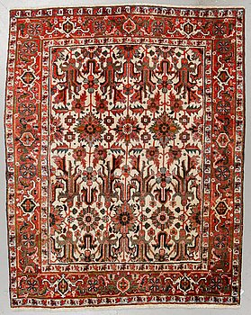 A carpet, Old West persian, ca 198 x 155 cm.