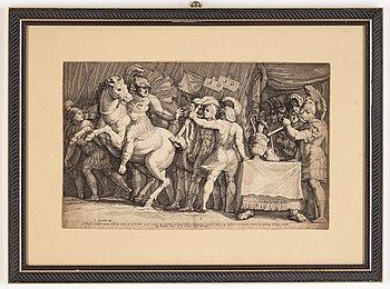 Jan Saenredam, copperplate.