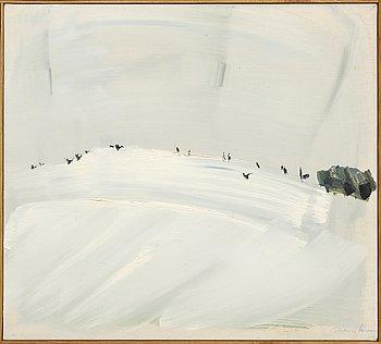 Thomas Larsson, oil on canvas sgined.