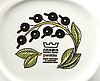 Birger kaipiainen, an eight pcs paratiisi dinner service form arabia finland later part of the 20th century.