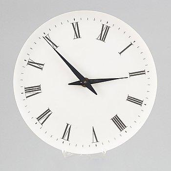 Henning Koppel, a Danish wall clock, second half of the 20th Century.
