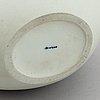 A porcelain vase, kpm berlin, germany.