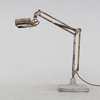 Bordslampa, Anglepoise, England, 1900-talets mitt.