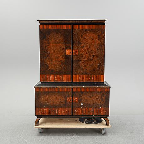 An art deco cupboard, 1930's.