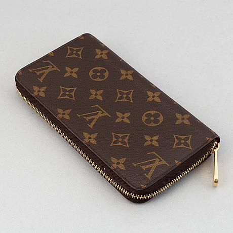 Louis vuitton, a monogram canvas wallet, 201.