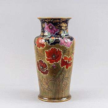A large ceramic Art Nouveau vase, Doulton Burslem, England,, circa 1900.