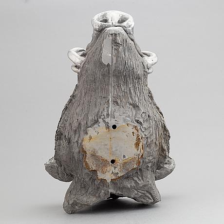 Claes uvesten, an aluminium sculpture, signed.