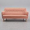A 'samsas' sofa by carl malmsten for oh sjögren, second half of the 20th century.