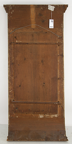A late gustavian mirror, circa 1800.