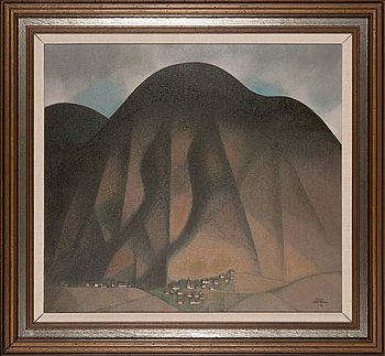 Veikko Marttinen, oil on canvas, signed and dated -82.