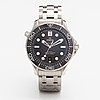 Omega, seamaster, diver, co-axial, 300m, wristwatch, 42 mm.