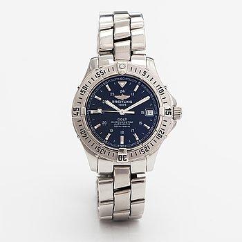 Breitling, Colt, wristwatch, 38 mm.