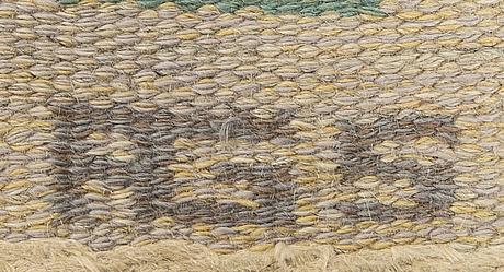 Anna greta sjöqvist, matta rölakan signerad ca 250 x 167 cm.