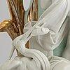 Vaser, ett par, porslin, 1800-talets andra hälft.