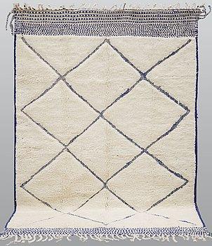 A carpet, Morocco, ca 294 x 198 cm.