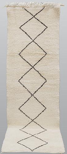 A runner, morocco, ca 290 x 88 cm.