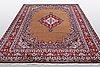 A carpet, moud, ca 320 x 220 cm.