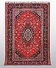 A carpet, kashan 284 x 195 cm.
