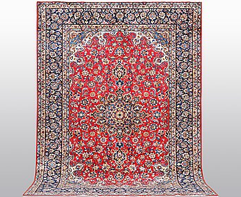 A carpet, Najafabad probably, ca 390 x 290 cm.
