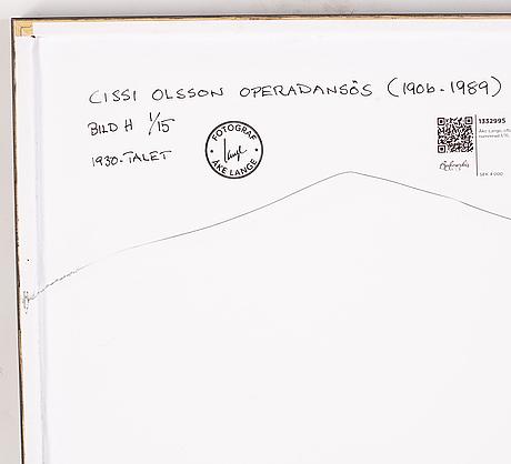 Åke lange, efter, c-print, numrerad 1/15.