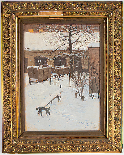 Oscar keen, oil on canvas, signed keen and dated -95.