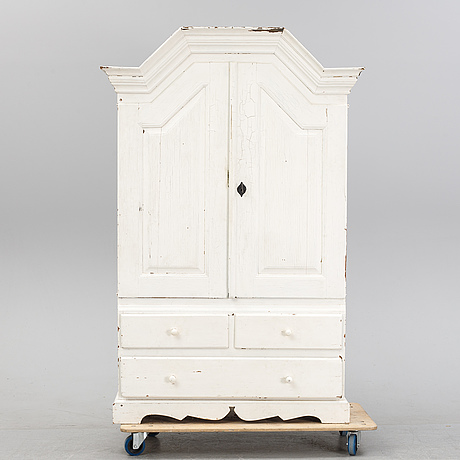 A painted cabinet, second half of the18th century.
