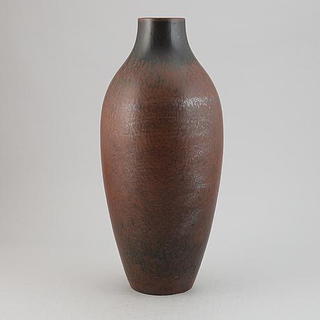 A floor vase by carl-harry stålhane, rörstrand.