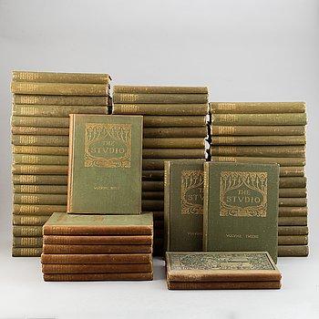 "61 hardcover volumes of ""The Studio"", London, 1983-1916."
