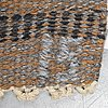 Ingegerd silow, a carpet, flat weave, ca 272 x 187-191 cm, signed is, around 1960-1970.