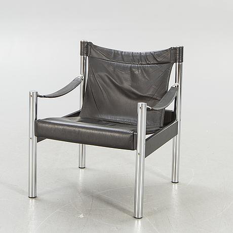 Armchair so-called safari model, johanson design, second half of the 20th century.