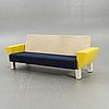An 1970s knoll sofa designed by ettore sottsass.