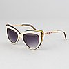 Christian dior, a pair of 'dior lady' sunglasses.