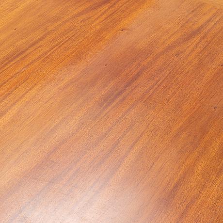 Christian hvidt, a mahogany desk, denmark, mid 20th century.