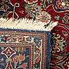A semiantique kashan carpet ca 210 x 131 cm.