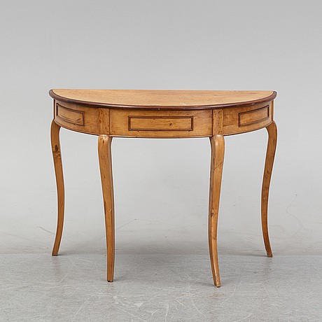 A 19th century side table.