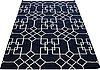 A carpet, flat weave, ca ca 230 x 160 cm.