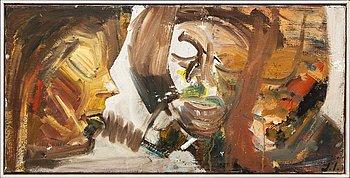 Jarl Ingvarsson, oil on canvas signed.