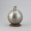 A pewter jug by carl einar borgström, ystad metall, 1934.