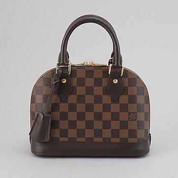 Louis Vuitton, a Damier Ebene 'Alma BB' handbag, 2019.