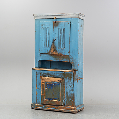 A swedish cabinet, first half of the 19th century.