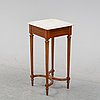 A gustavian style table, ca 1900.