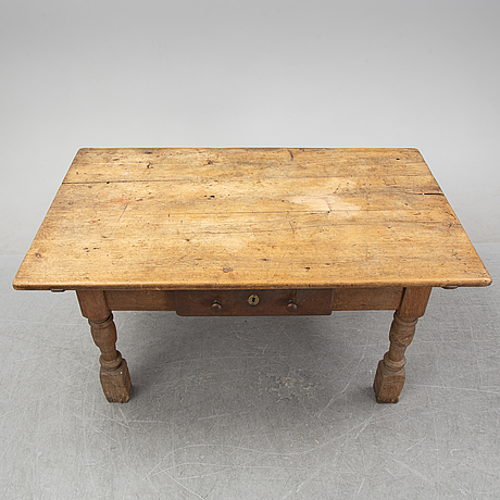 A swedish baroque-style table, 19th century.