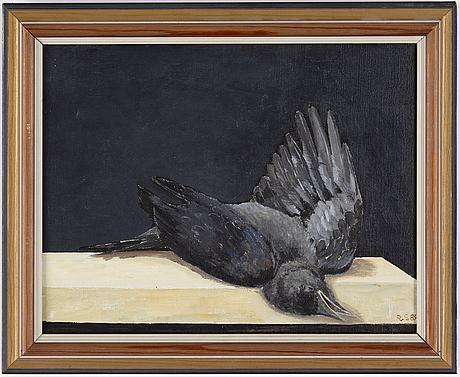 Philip von schantz, oil on canvas, signed and dated -84.