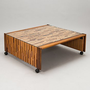 Percival Lafer, a 'Woodstick' coffee table, latter half of 20th century.